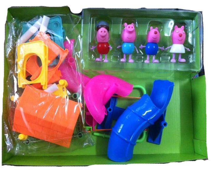 Конструктор дом Свинки Пеппы / BIG Peppa Pig 57078