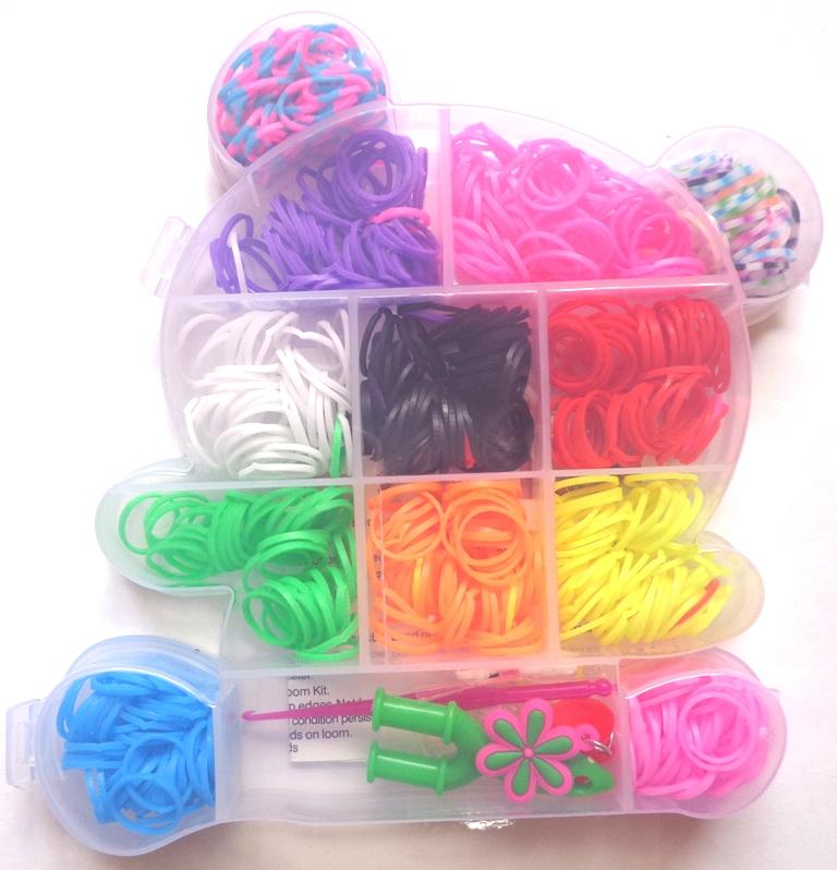 Резиночки для плетения со станком 159