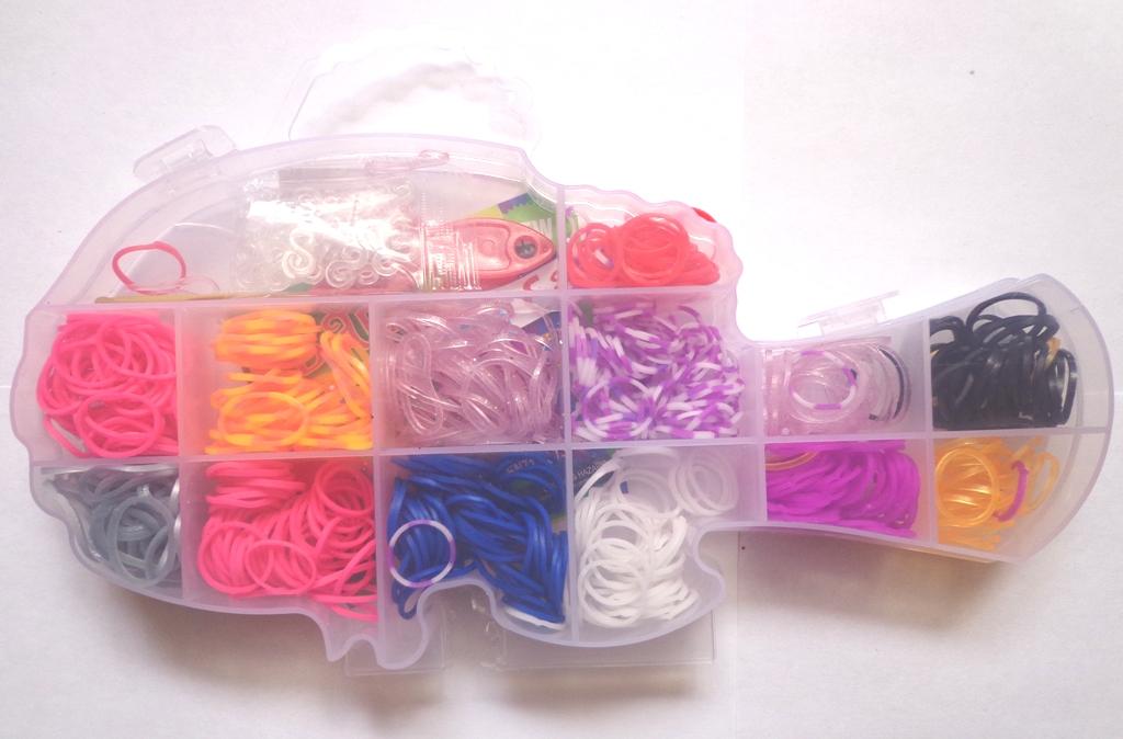 Резиночки для плетения со станком 48
